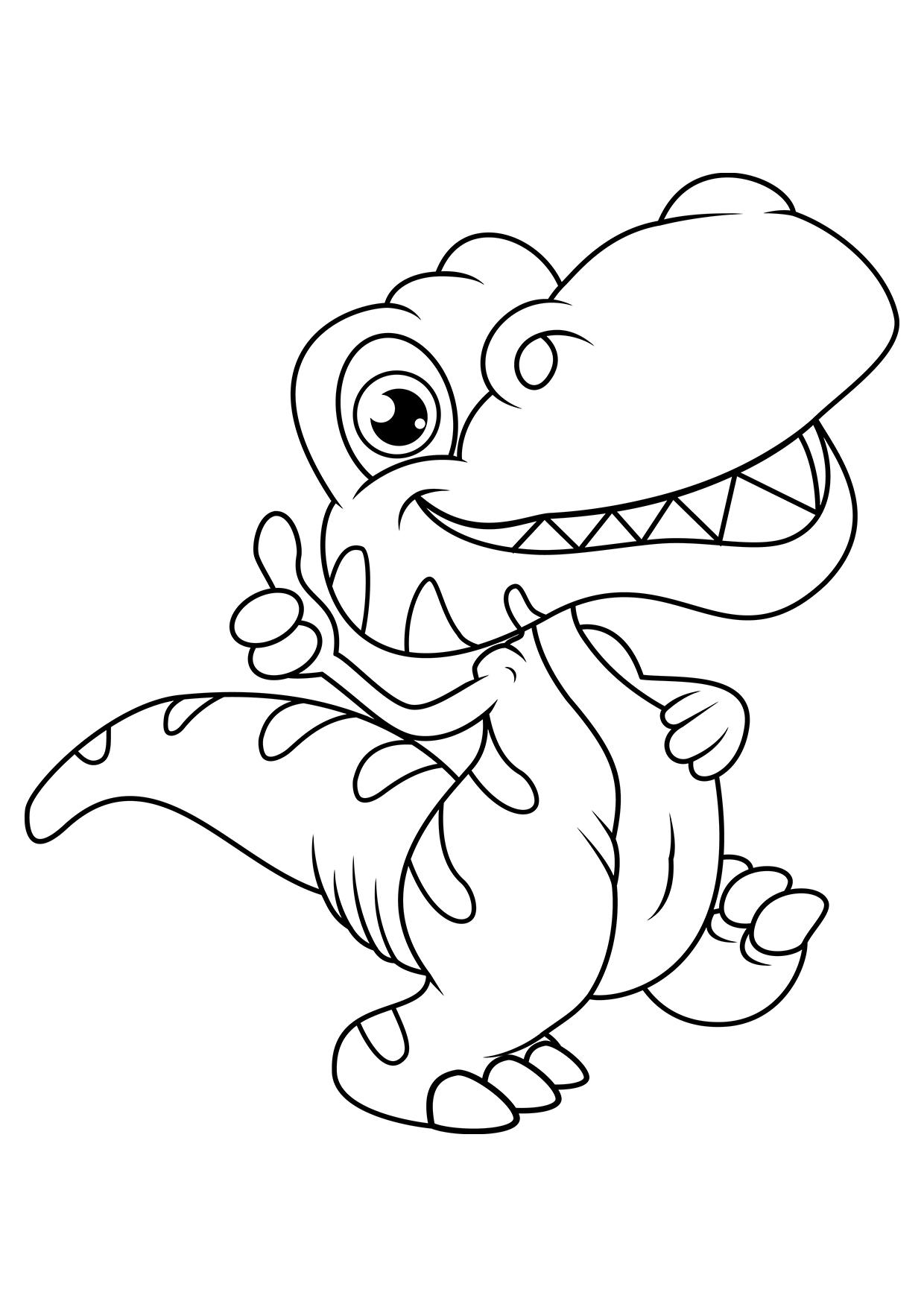 Раскраски динозавры для мальчиков и девочек распечатать а4 ...